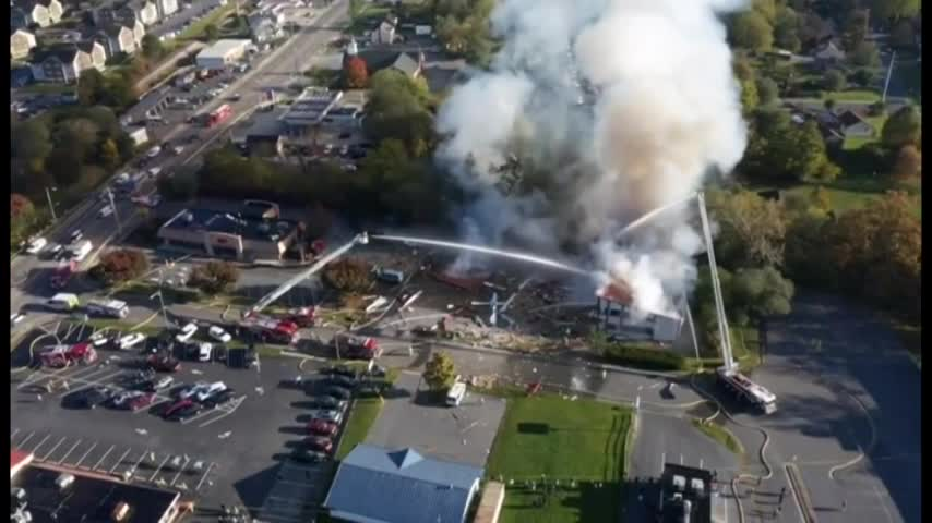 At Least 5 Injured in Blast, Fire at Virginia Strip Mall class=