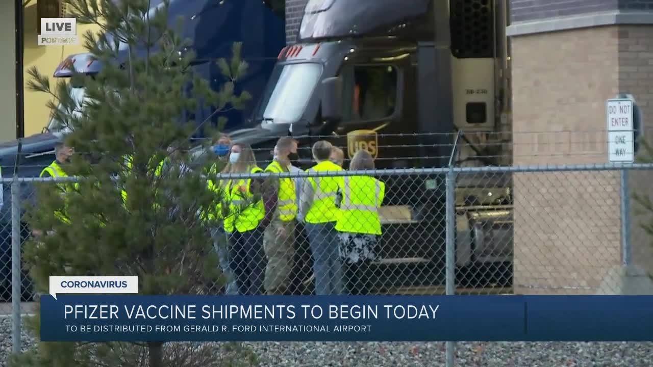US Launching Coronavirus Vaccine Distribution
