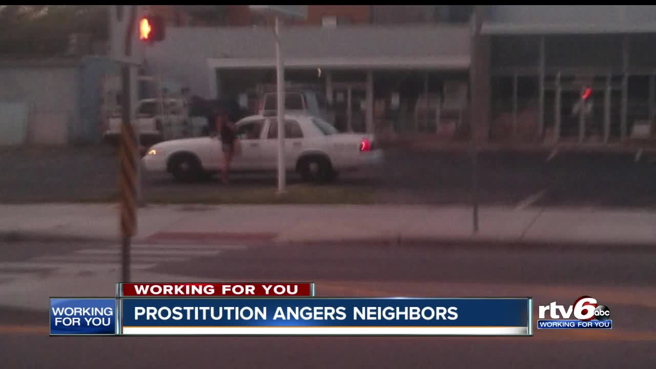 Prostitution on Indy's near east side is getting worse and