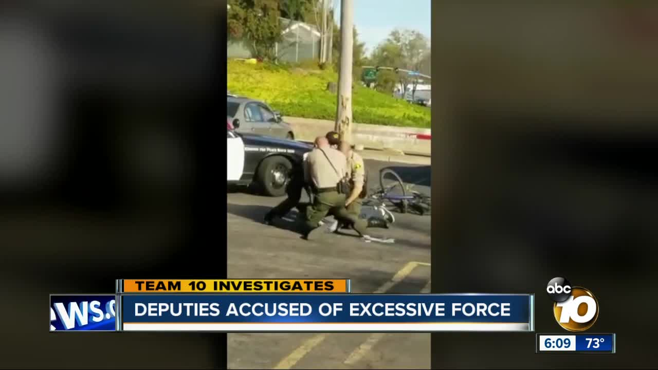 San Diego sheriff's deputy with history of complaints