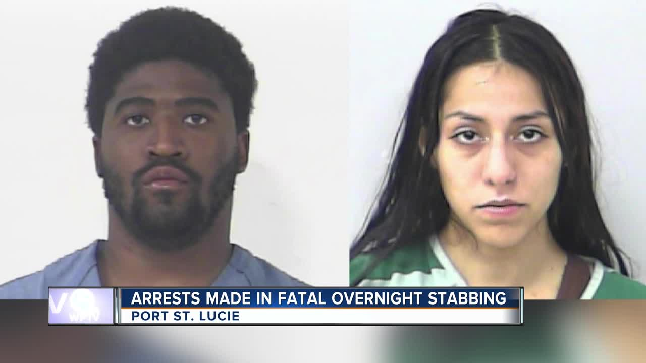 Man Fatally Stabbed In Port St Lucie Driveway 2 Suspects Arrested