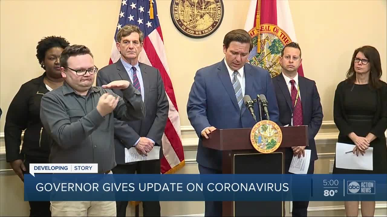 Florida awaits confirmation on fourth case of coronavirus