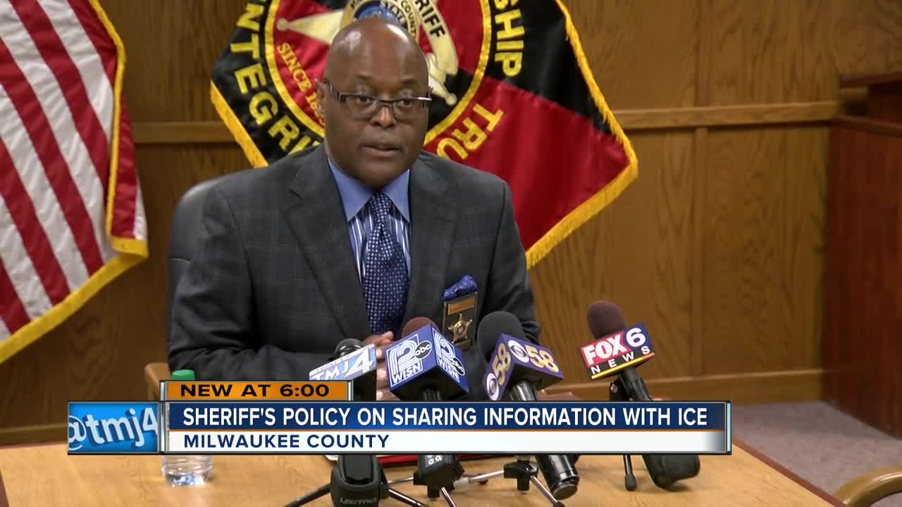 Milwaukee County Sheriff cuts communication with Immigration
