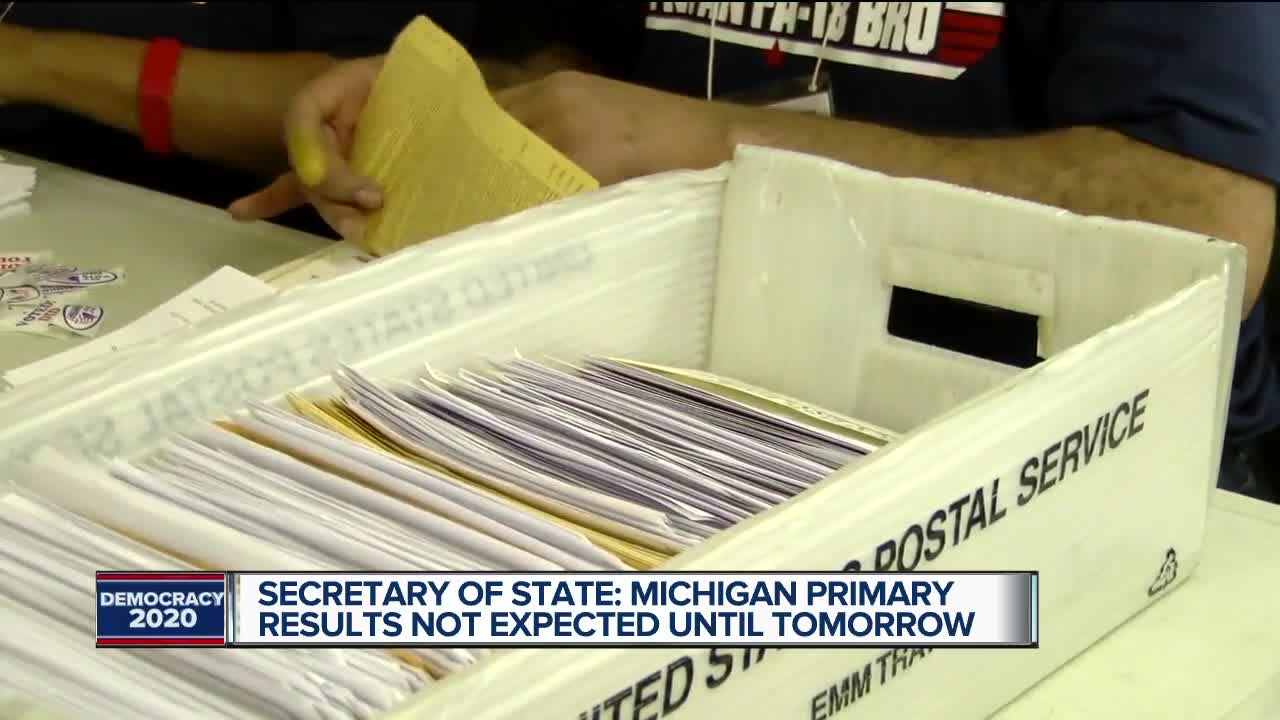 Michigan Presidential Primary election results
