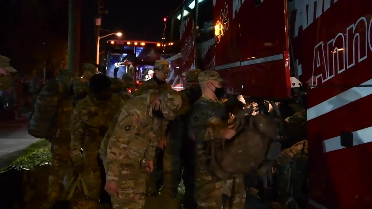 Utah National Guard troops deployed to D.C. for inauguration