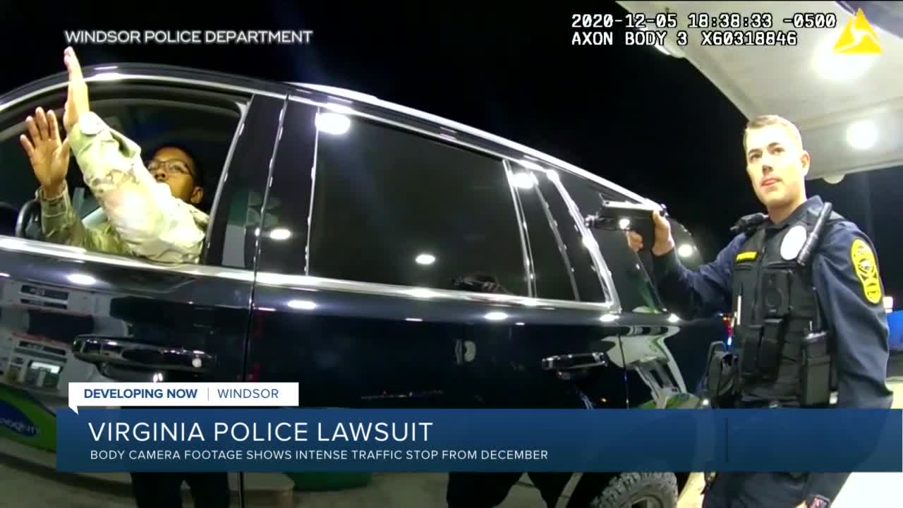 Virginia police threatened man during stop, lawsuit says