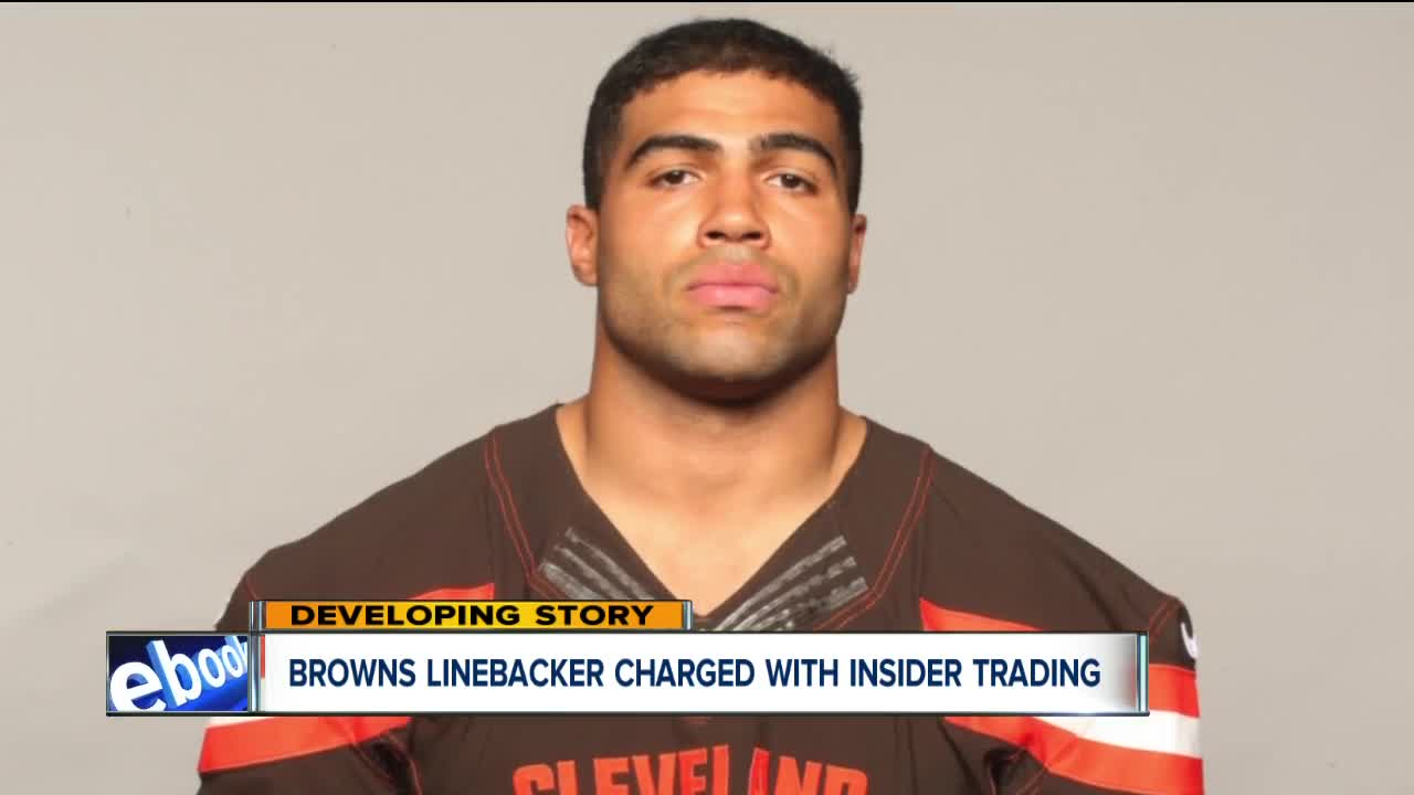 uk availability c0357 ffea0 Browns linebacker Mychal Kendricks charged with insider trading