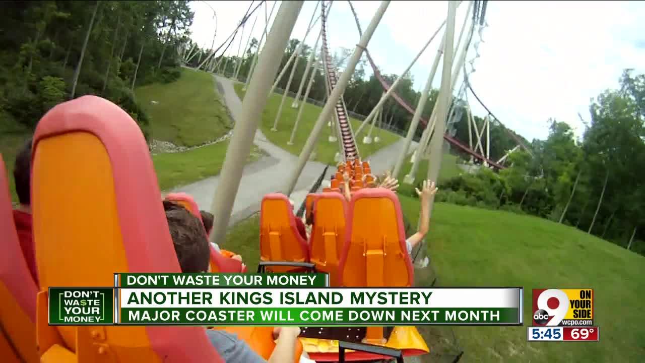 Kings Island confirms a major coaster coming down