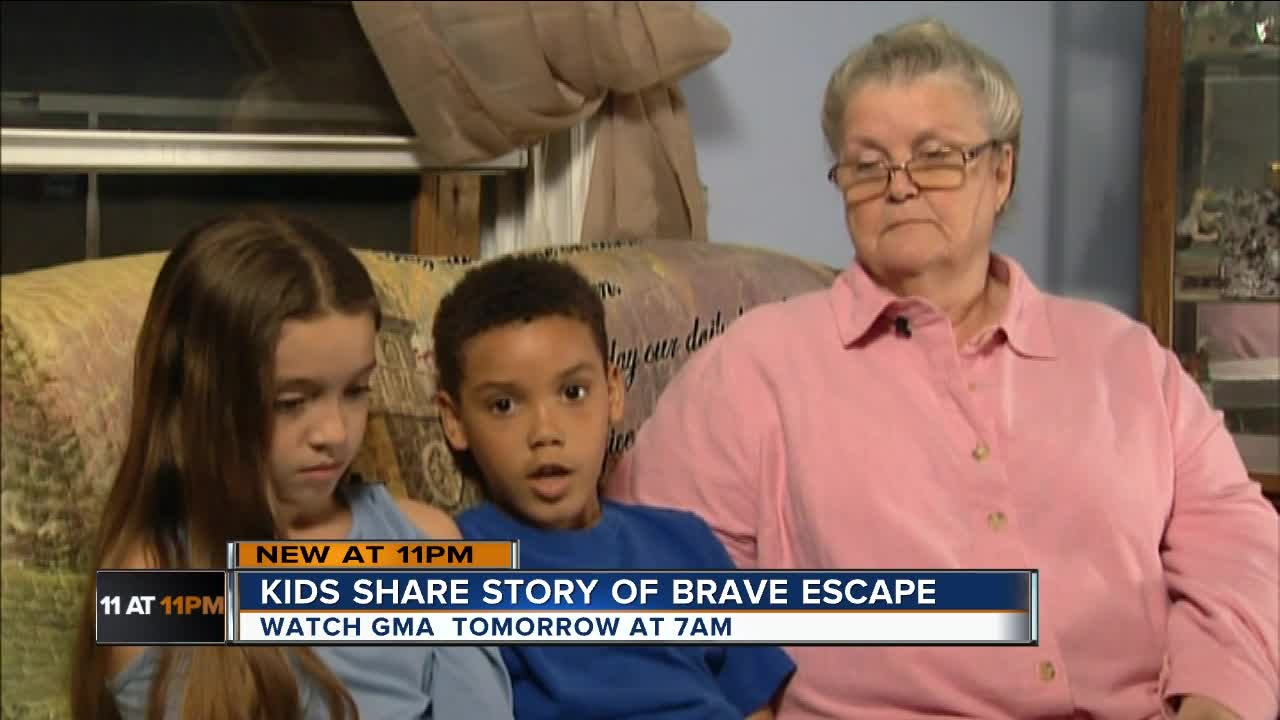8-year-old saves sister from potential kidnapping