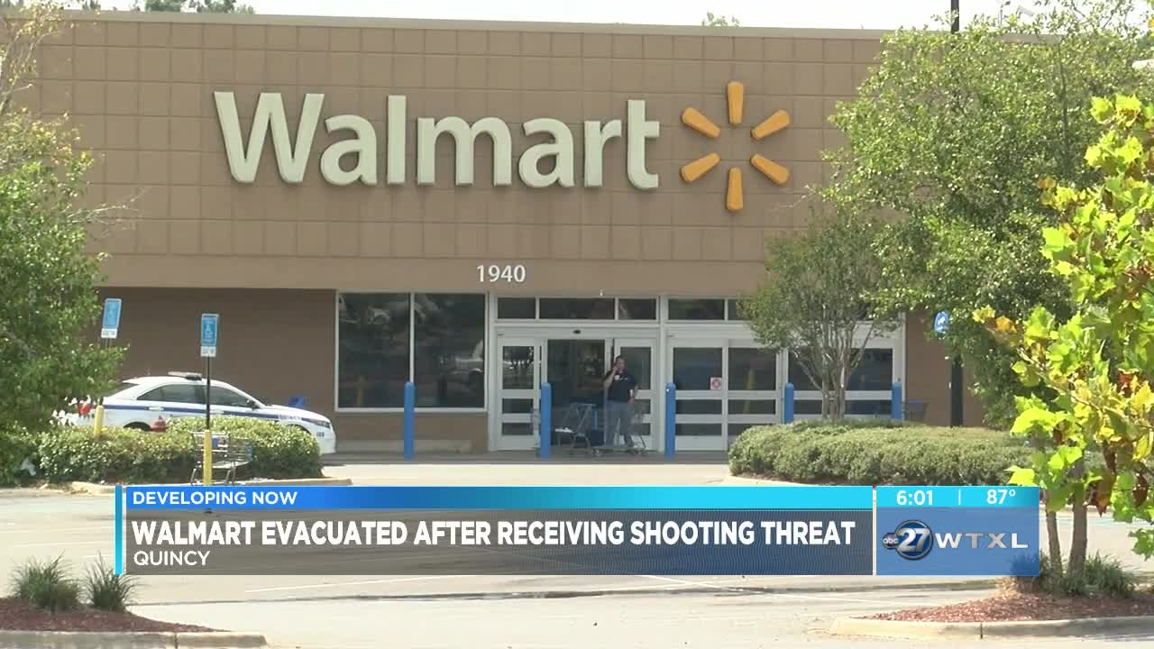 Police: Walmart in Quincy evacuated after receiving shooting