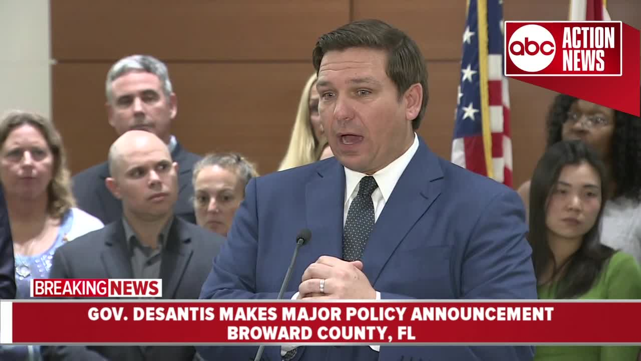 Governor Ron DeSantis wants grand jury to look into money used for