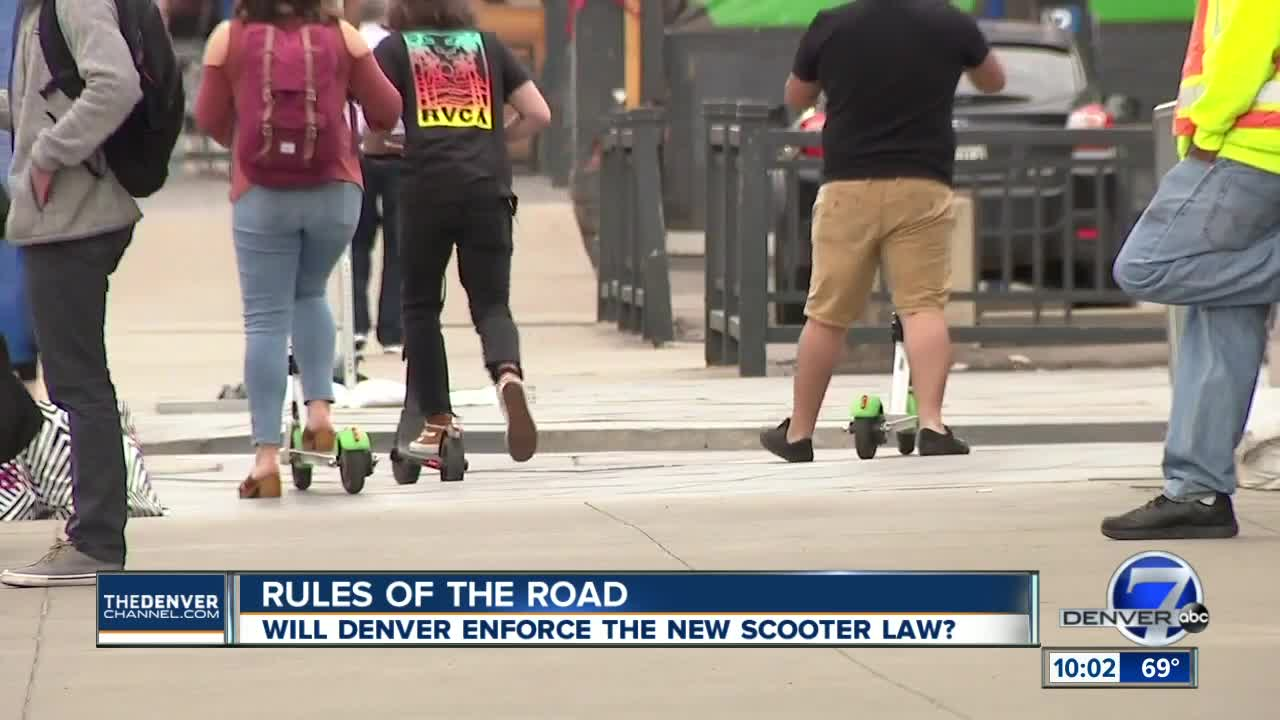 City council members vote to remove scooters from Denver