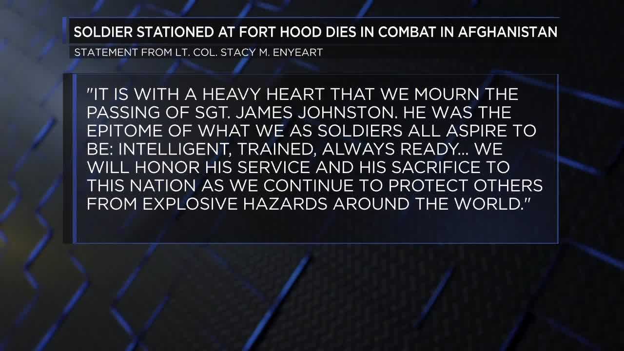 Fort Hood solider killed in Afghanistan