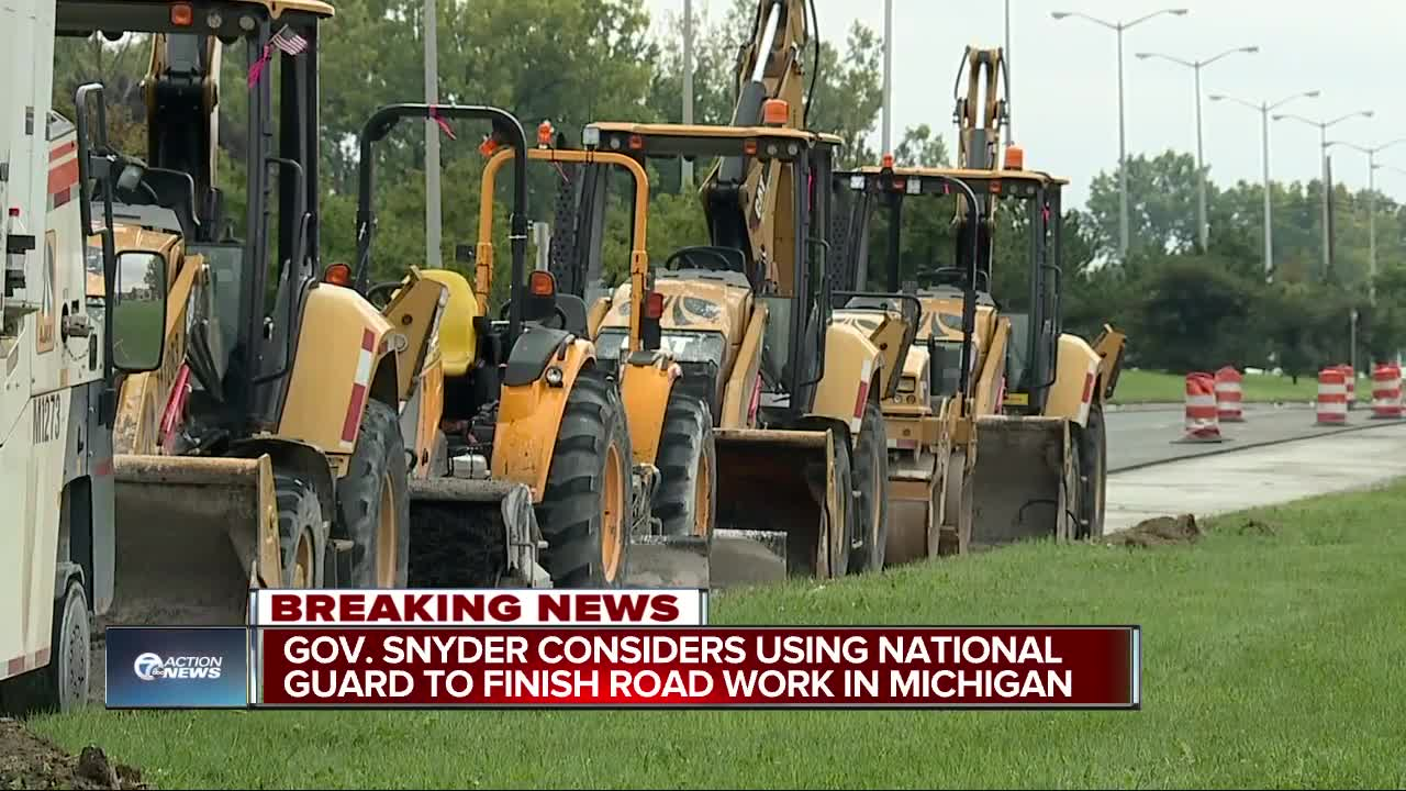 Governor's office says 'positive step forward' made in road