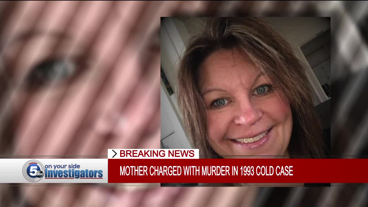 Mother charged with murder in 'Geauga's Child' 1993 cold