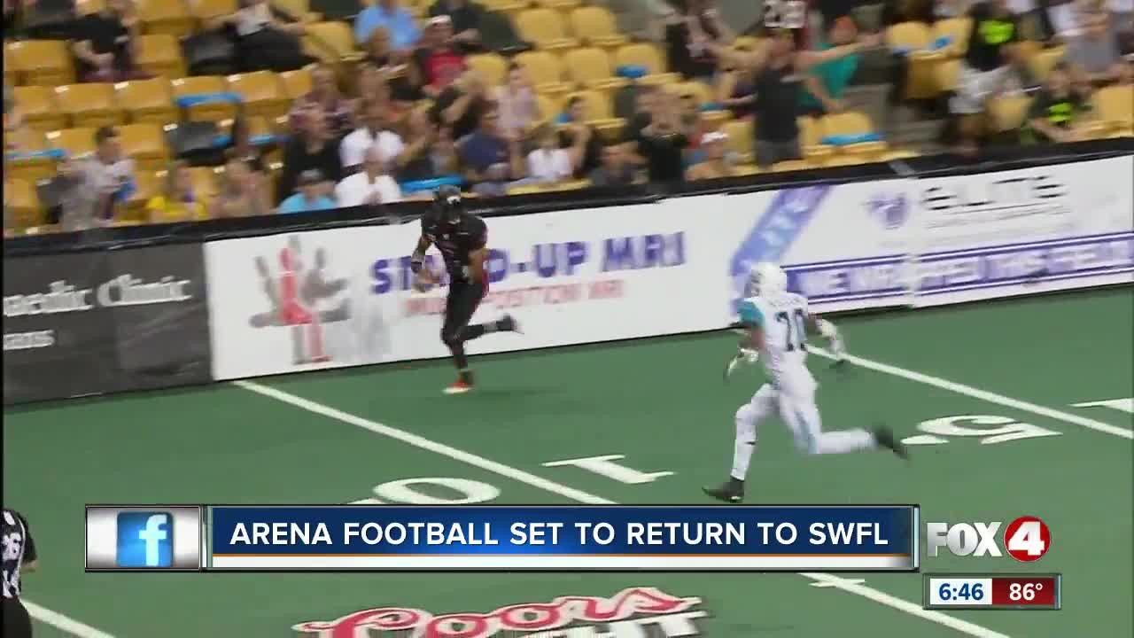 A League Indoor Football Coming To Southwest Florida