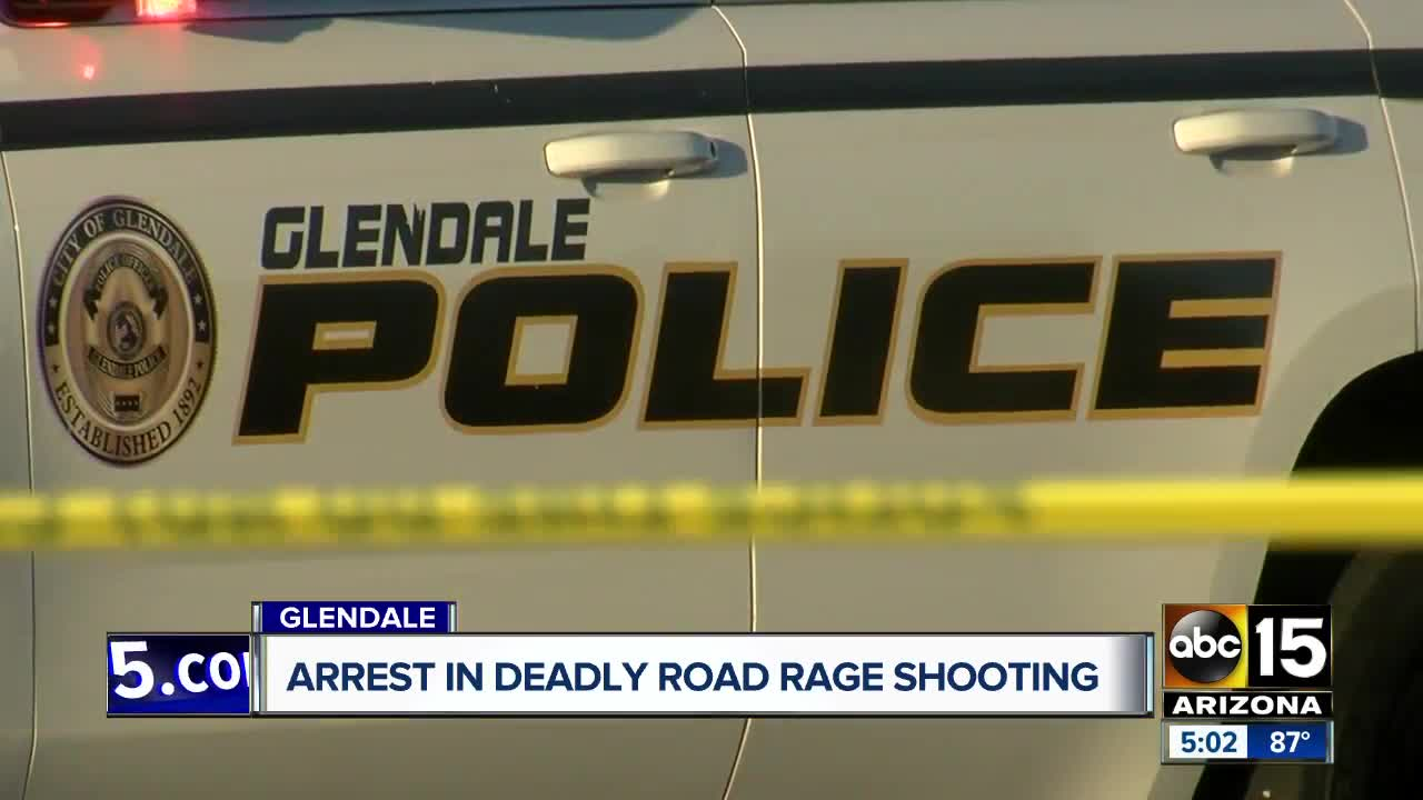 Suspect from deadly Glendale road rage shooting turns self in
