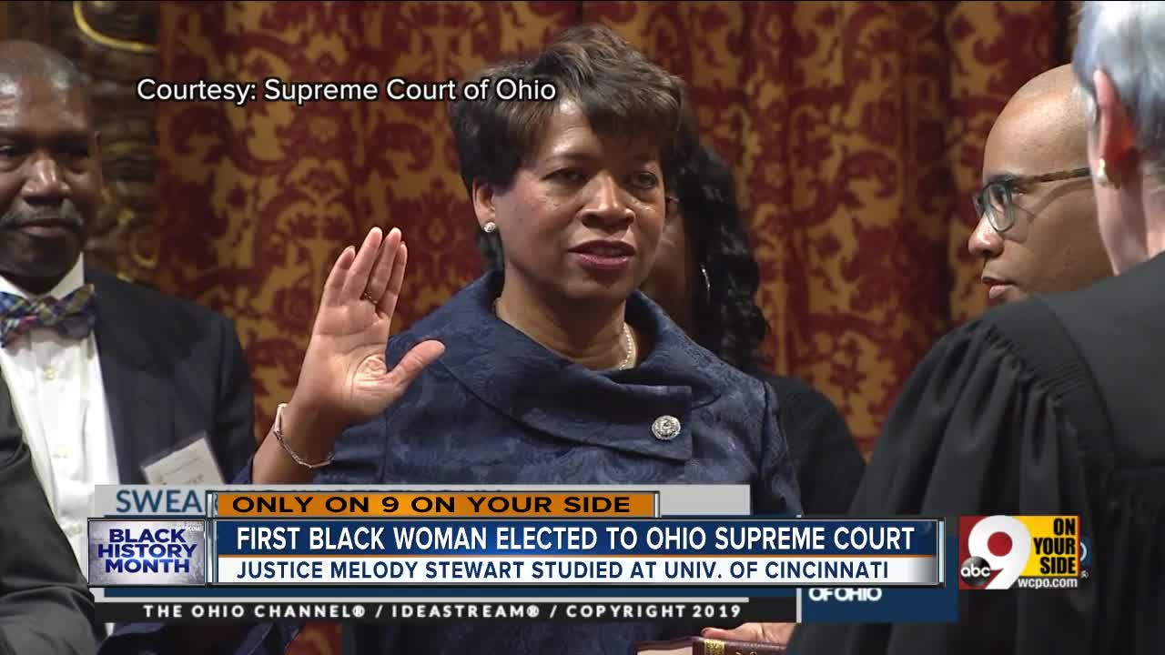 First Elected African-American Woman Ohio Supreme Court