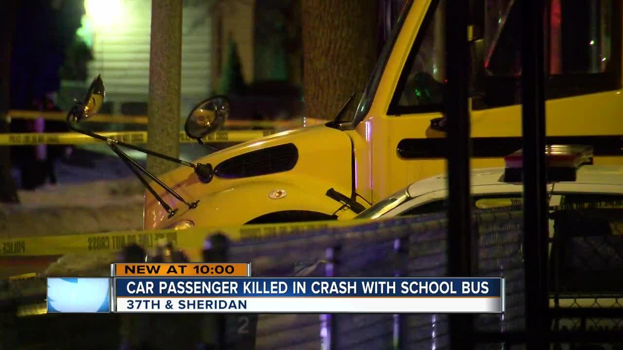 Little girl riding Milwaukee school bus witnessed deadly crash