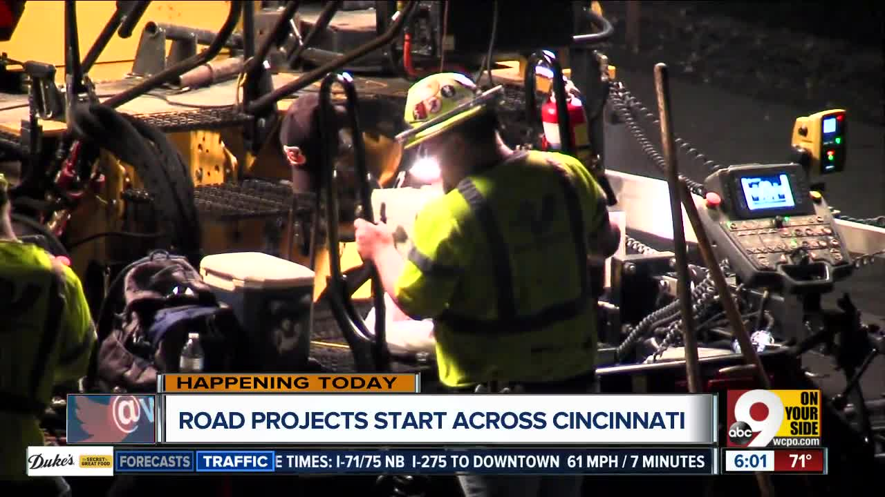 Crews begin months-long project preserving city roads