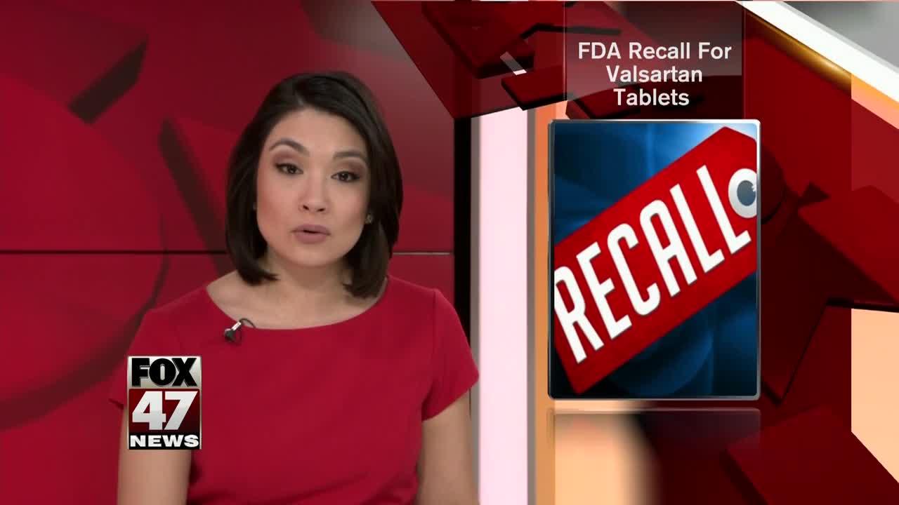 Blood pressure medication recalled