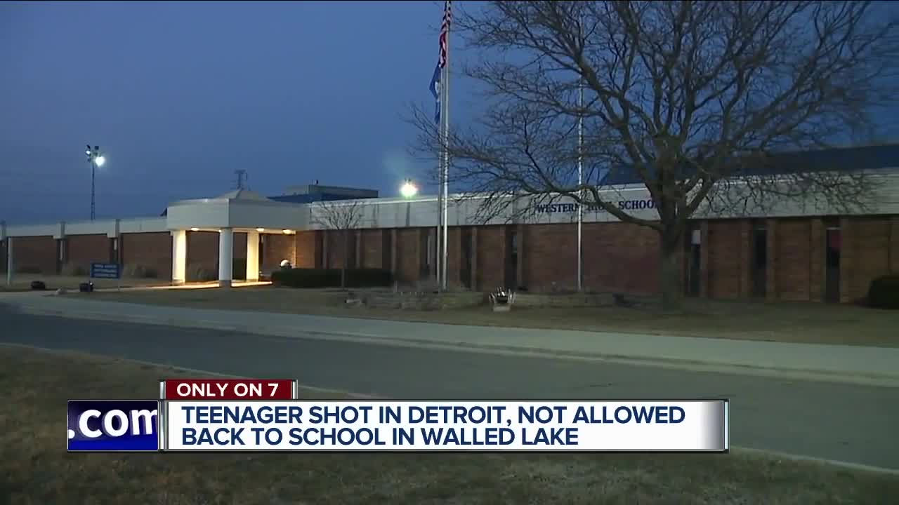 Student at Walled Lake Western says he was kicked out of