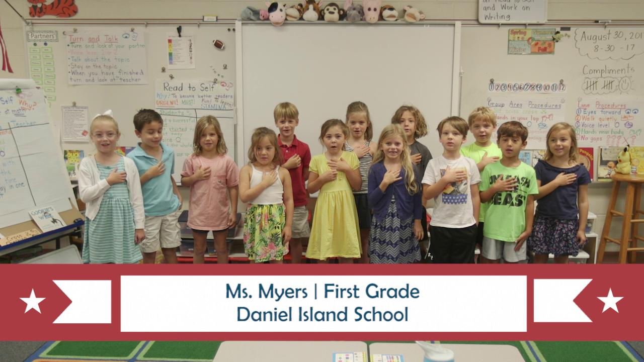 PLEDGE OF ALLEGIANCE for July 9, 2018