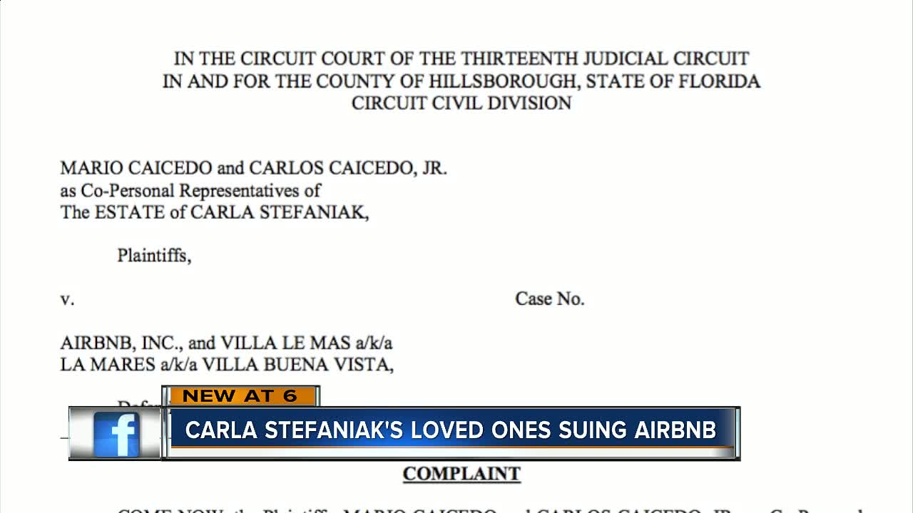 Family of Florida woman murdered in Costa Rica suing Airbnb
