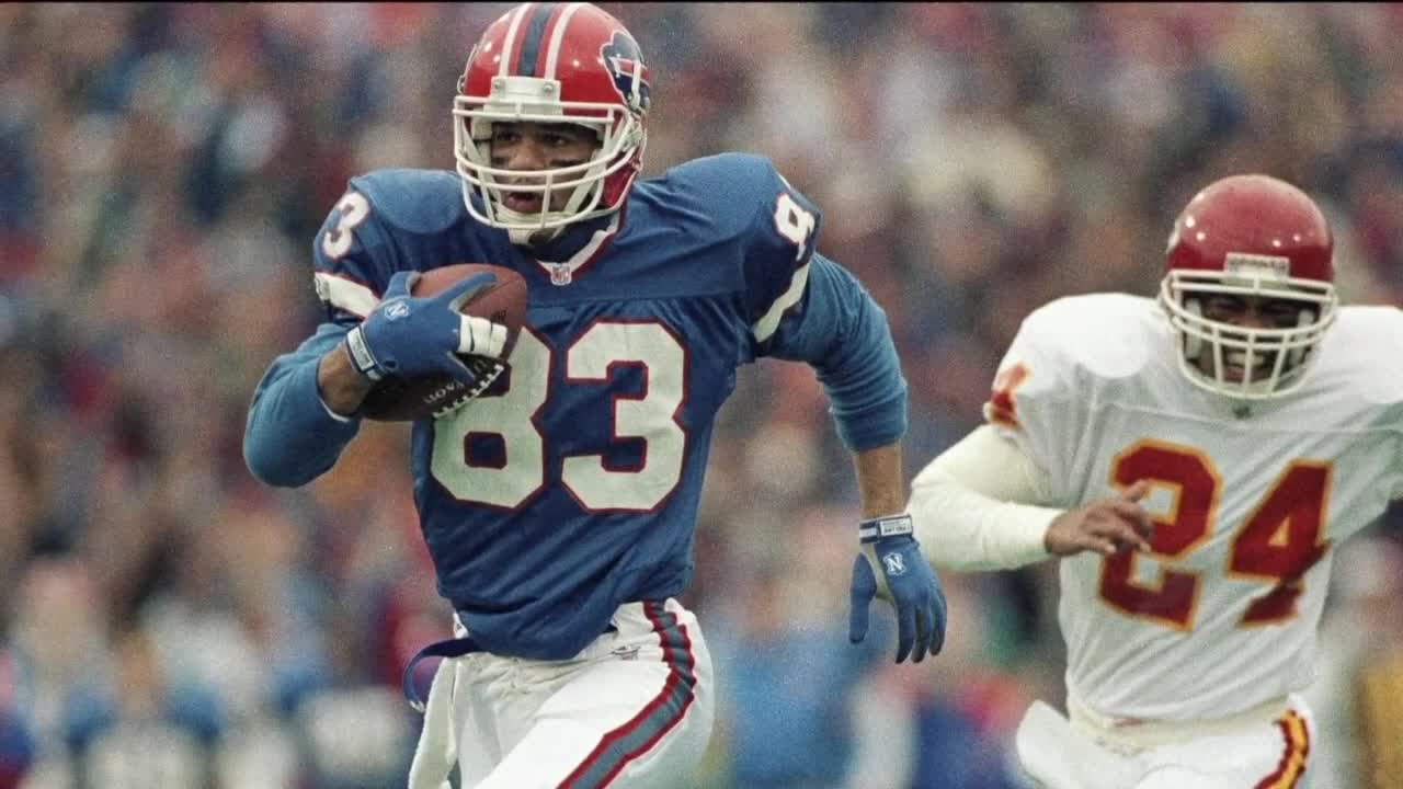 Bills Hall of Famer Andre Reed travels to KC