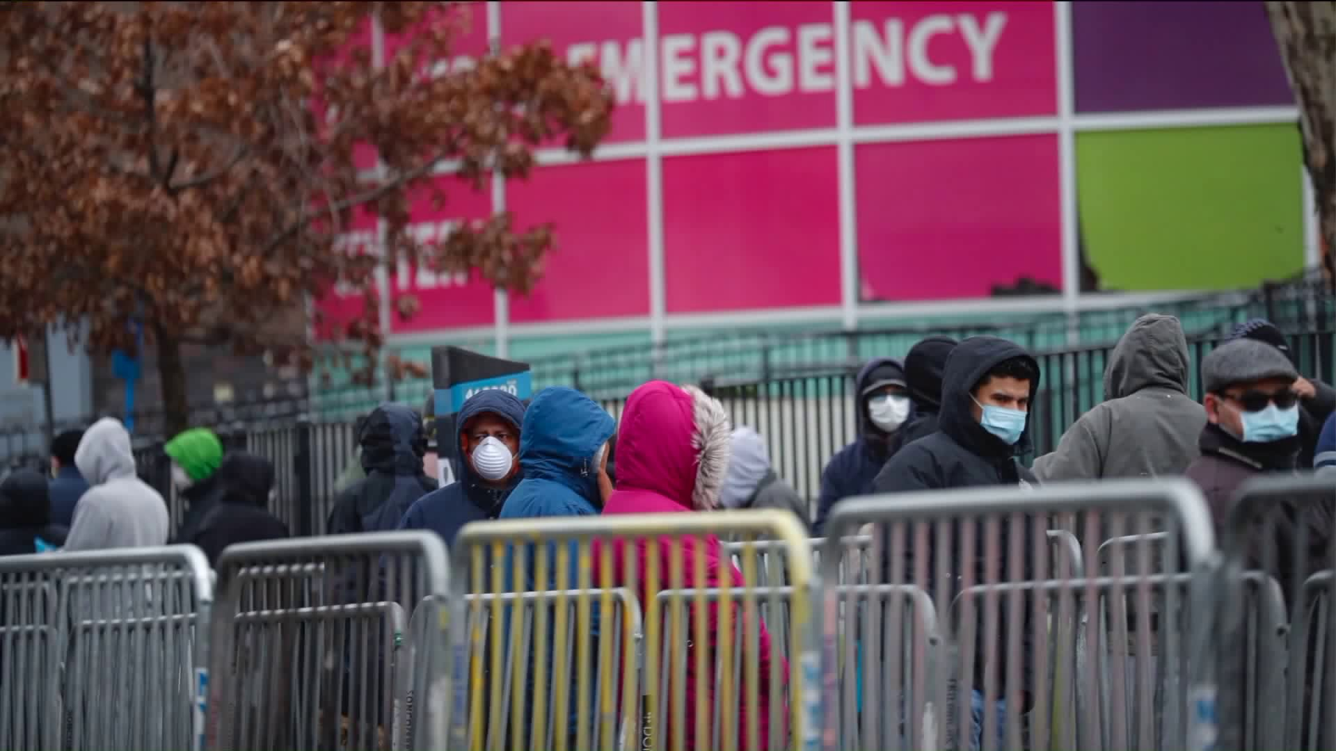 Sirens Wail Round the Clock Near Queens Hospital Filled with Coronavirus Patients