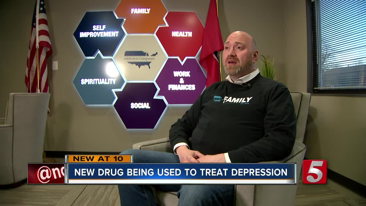 FDA approves controversial drug for depression