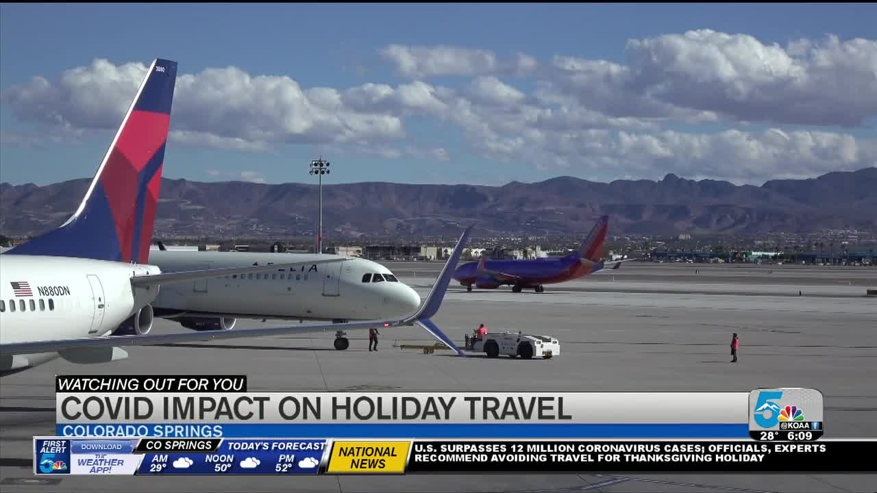 Uptick in air travelers reported despite CDC advising against Thanksgiving travel