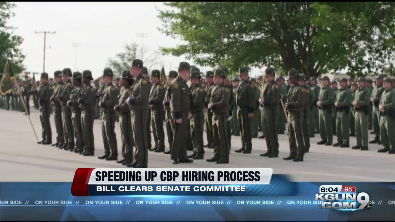 McSally introduces bill to speed up CBP hiring process