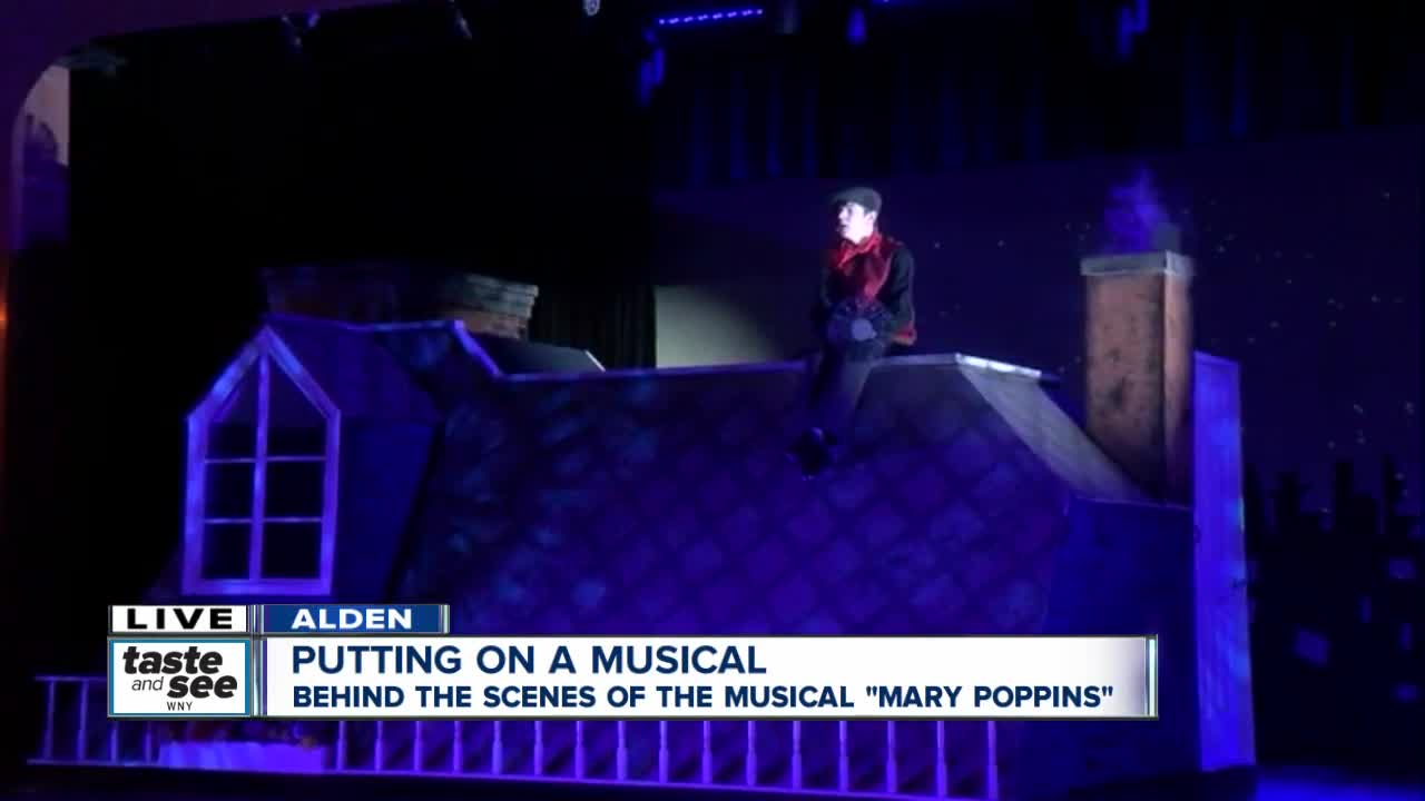 Alden High School students flying high with Mary Poppins