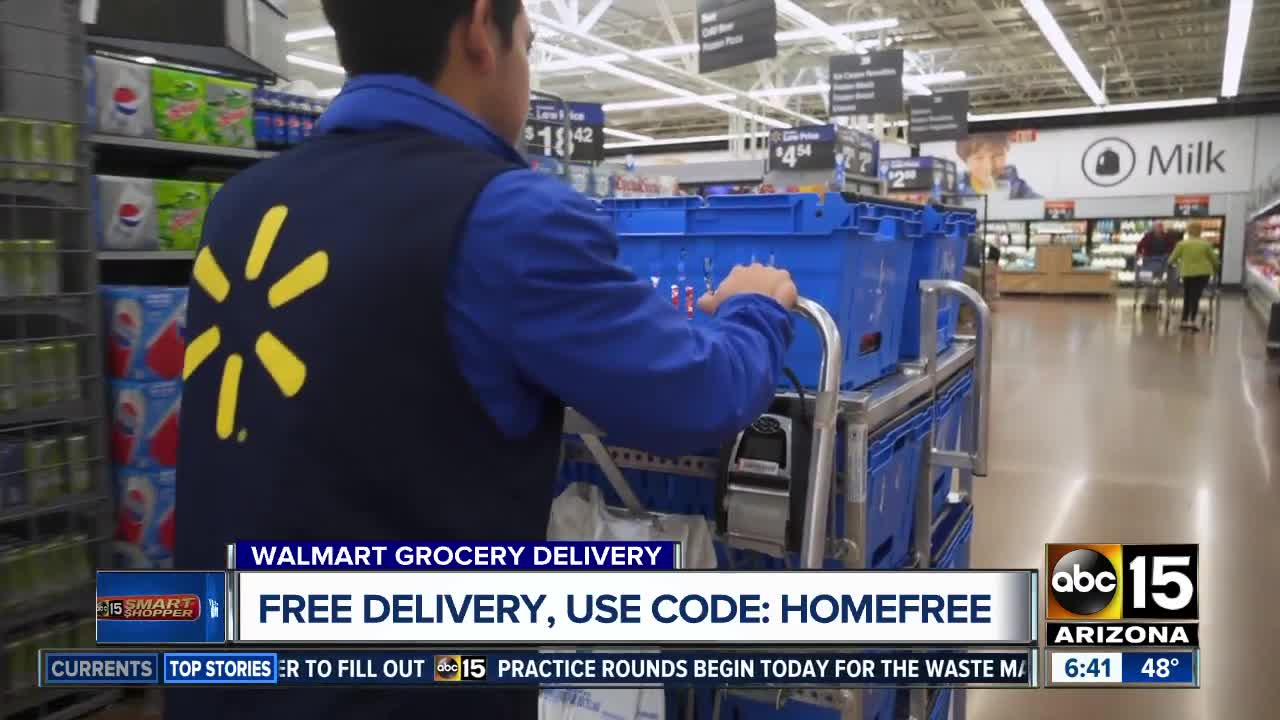 Score FREE delivery for the groceries you order online