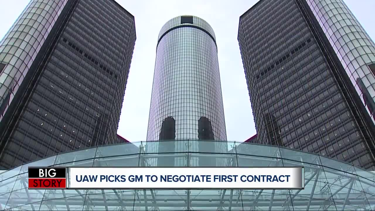 UAW selects GM to begin contract negotiations