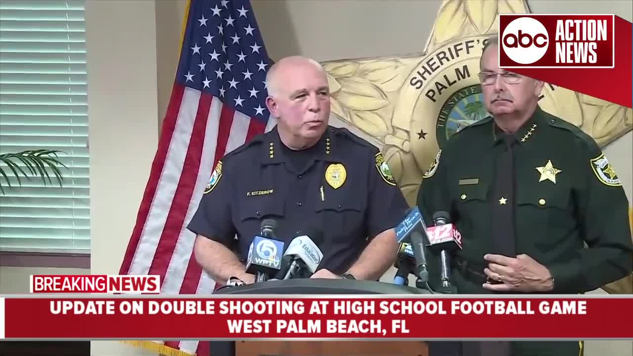 Two people shot during high school football game in West Palm Beach