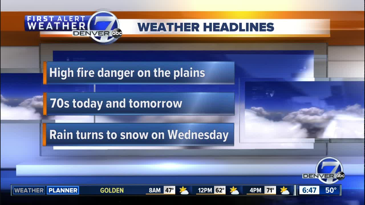 Blizzard Warnings Posted from Colorado to Minnesota
