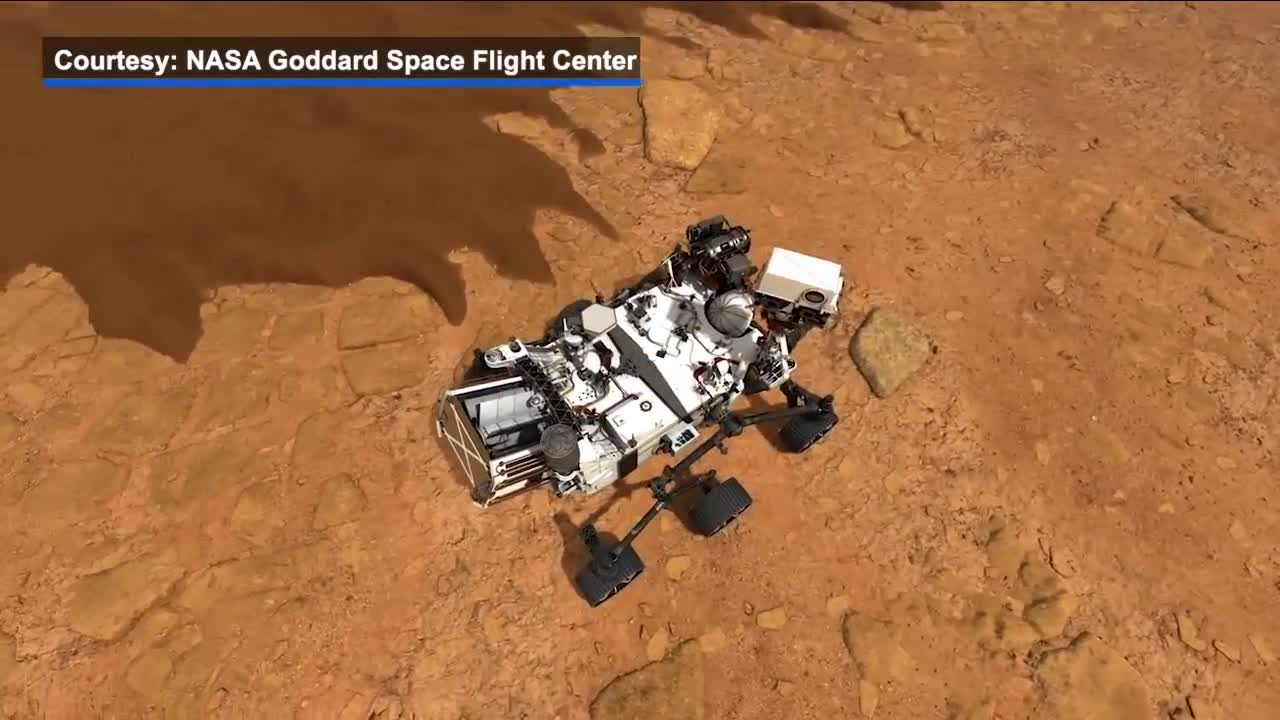 Excitement as Nasa launches new rover Perseverance to find life on Mars