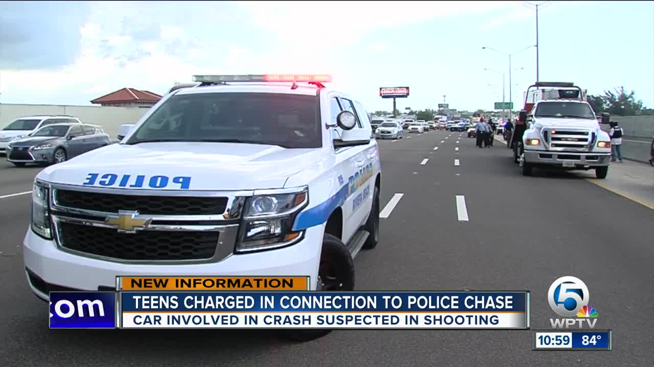 15-year-old driver faces multiple charges after I-95 chase in