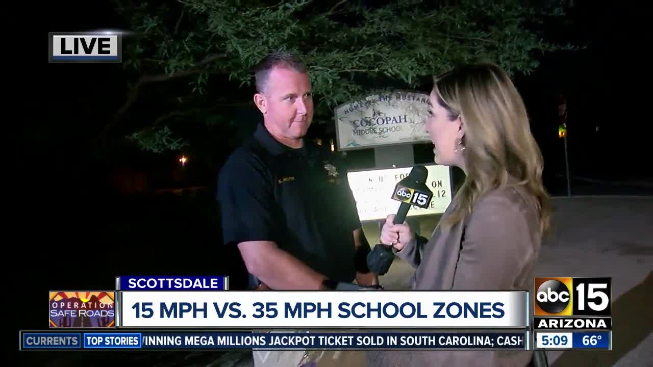 Excessive speeders seen in Scottsdale school zones, police say