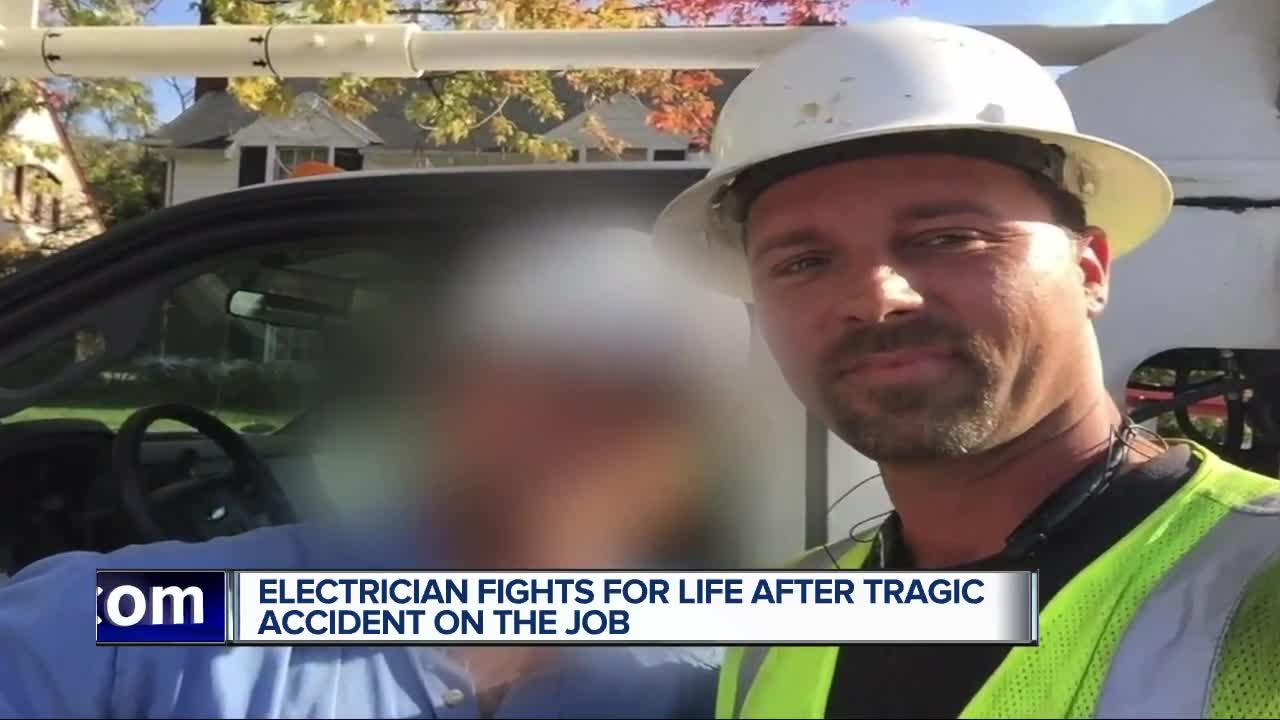 Construction worker clinging to life after accident on I-75