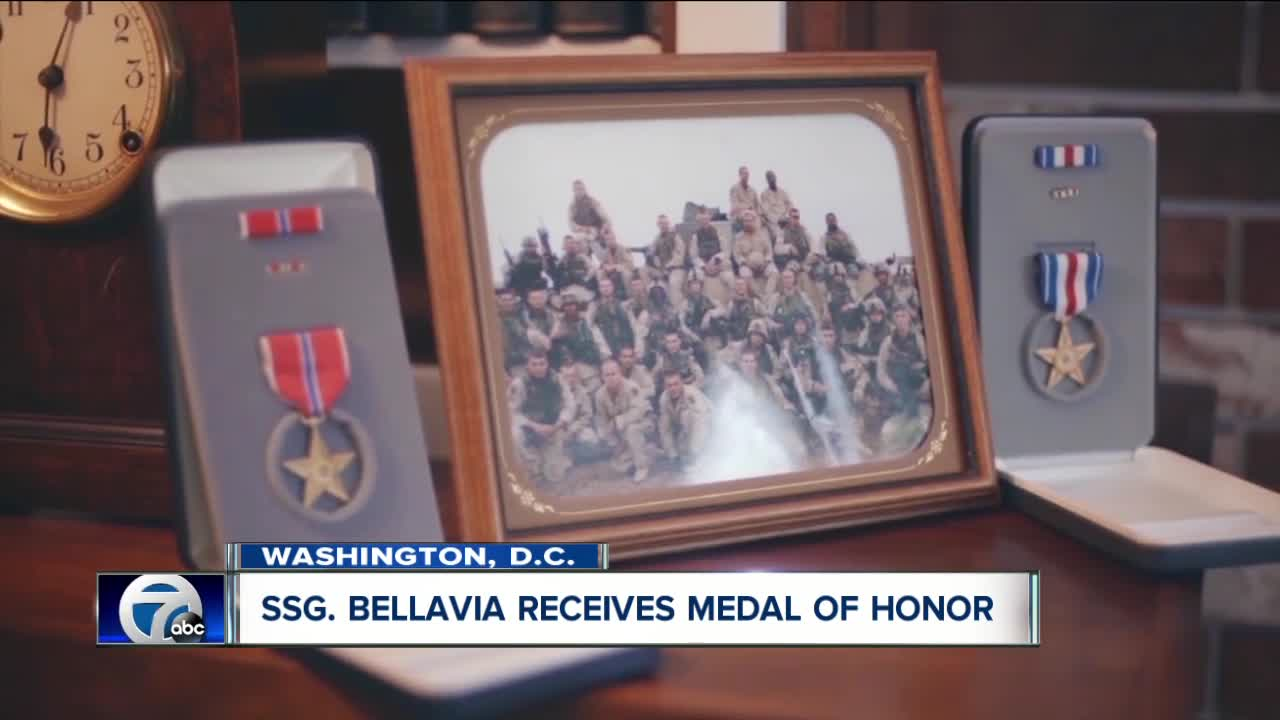 WNY native David Bellavia receives Medal of Honor, first