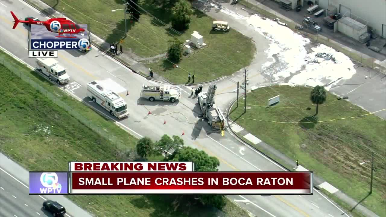 Small Plane Crashes At Boca Raton Airport, Local Doctor