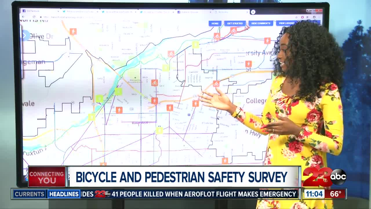 Interactive Survey Hopes To Improve Pedestrian And Bicycle