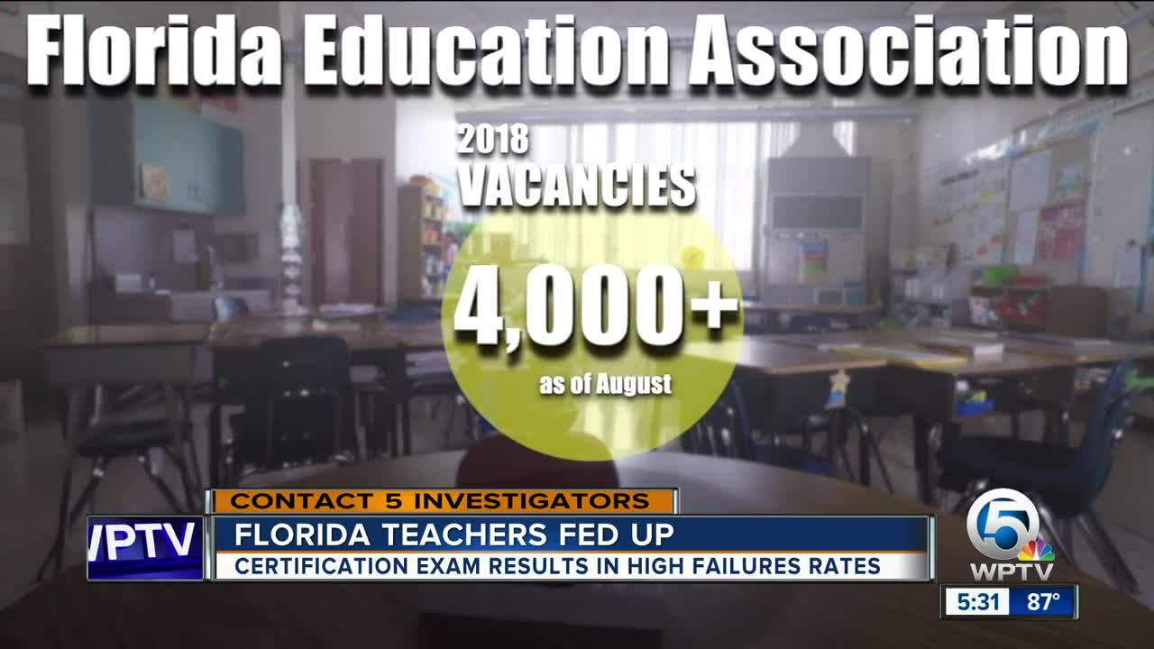 Florida Education Boss Avoids Questions After 1000 Teachers