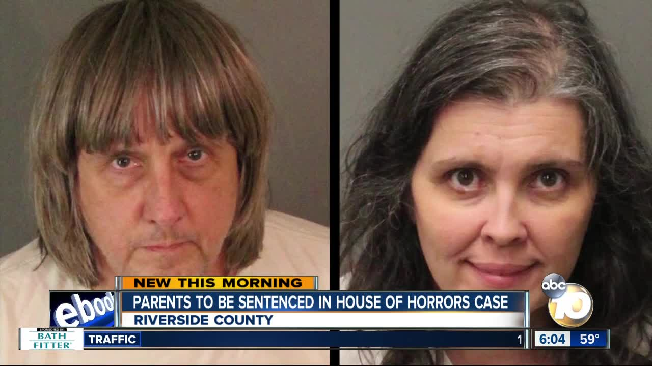 House of horrors: Parents who starved and shackled children sentenced to life