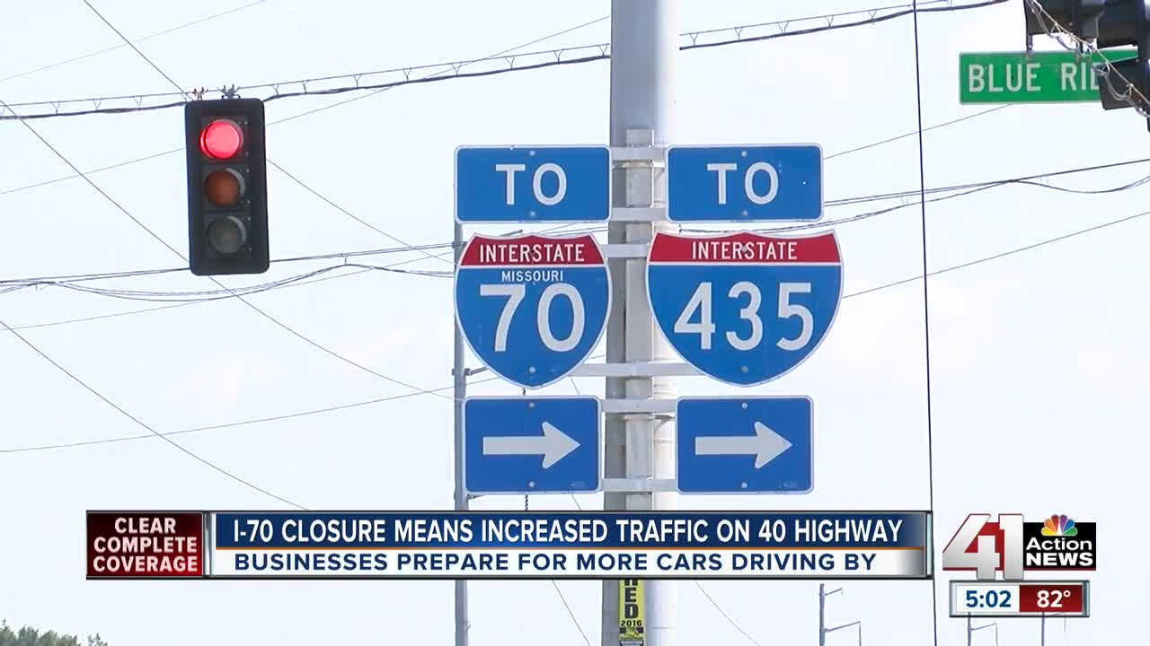 Businesses along U S  40 prepare for extra traffic this weekend