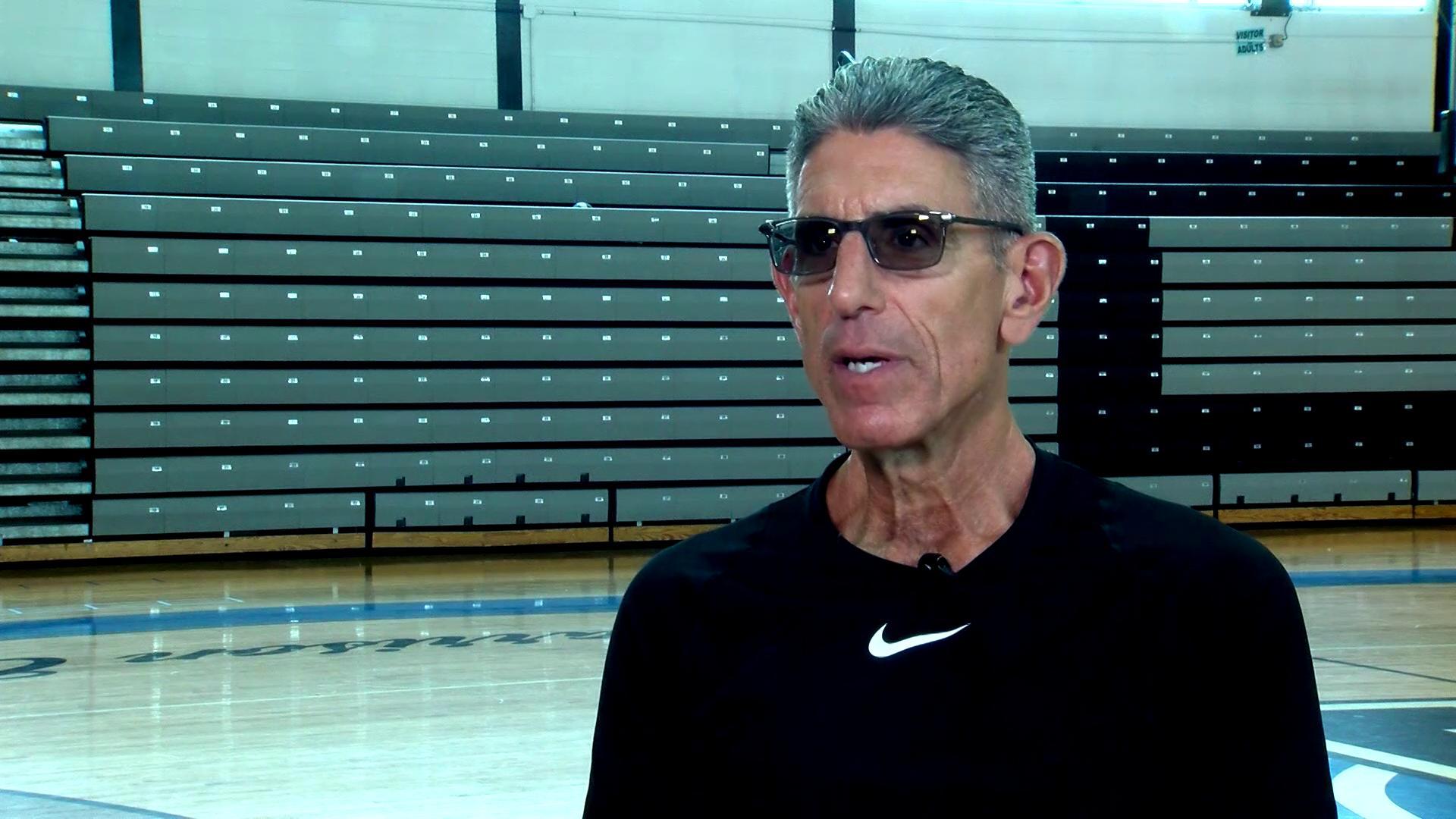 Coach Jim Tsilimos