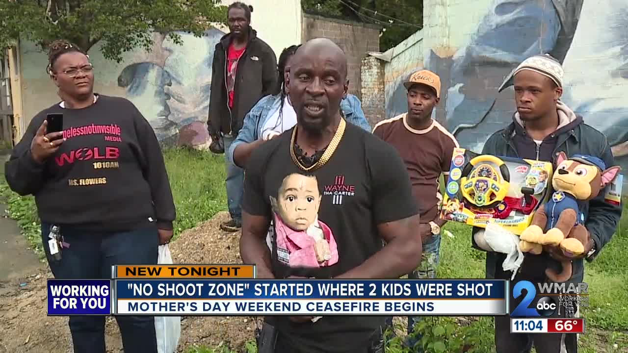 Baltimore Neighborhood Where Two Children Shot Is Now A